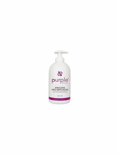 Emulsão Pós-depilação Menta 500ml  Purple