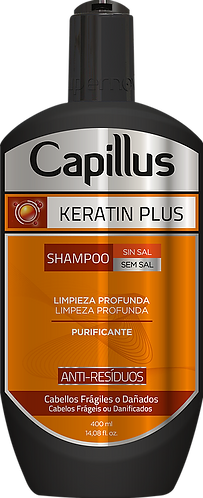 SHAMPOO CAPILLUS KERATIN PLUS 400 ML