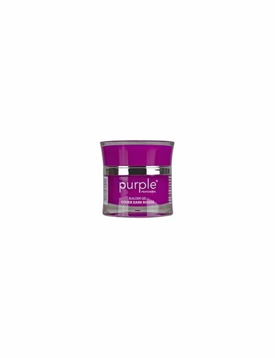Gel Cover Dark Rouge 15gr  Purple