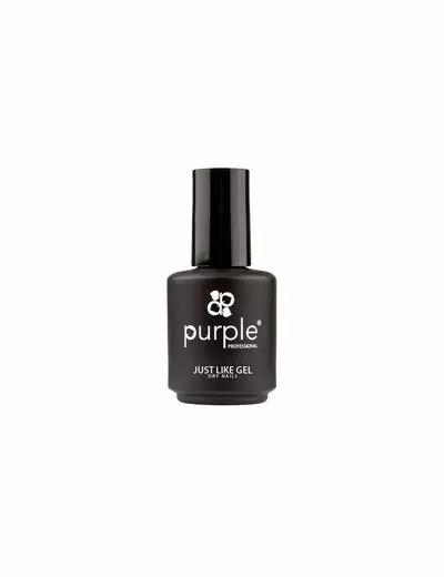 Just Like Gel Top Coat 15ml - Purple