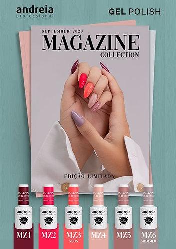 Verniz Gel Andreia Magazine Coleção Pack de 6 unidades (Edição limitada)