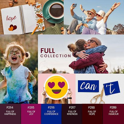Coleção Verniz Gel PURPLE – Full Collection 6 cores