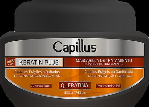 MASCARA CAPILLUS KERATIN PLUS 500 G