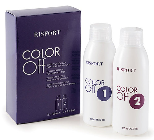 Risfort Color Off – Corrector de Coloração 2x100 ML