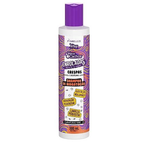 Novex meus cachos enroladas crespas shampoo 300ml