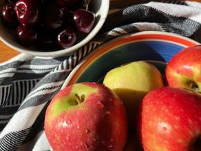 Apple & Cherry Pie, a sweet spring delight