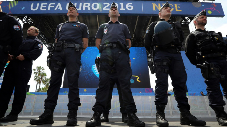 EURO 2016 - Police Security