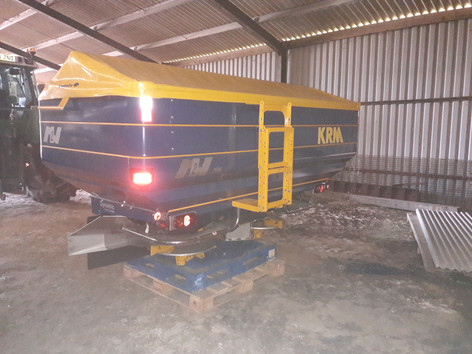 New KRM spreader to a customer