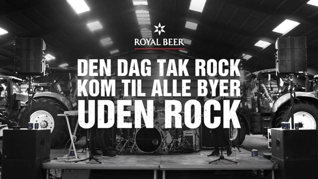 Royal Beer Tak Rock TV