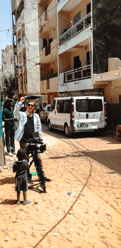 CTCN Senegal filming in the streets