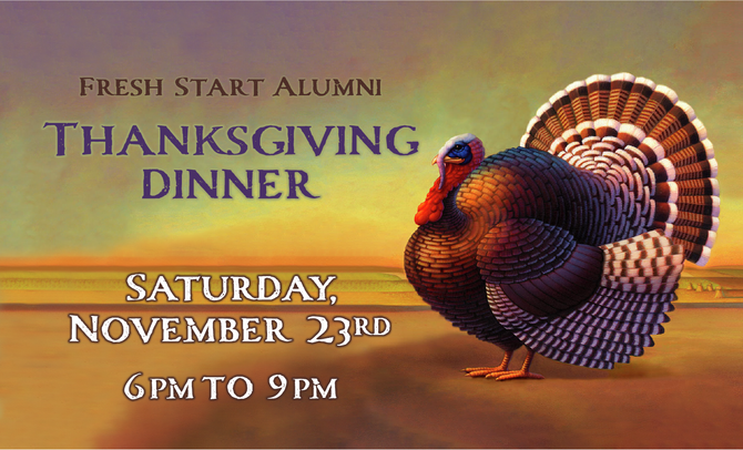 FSAA Annual Thanksgiving Dinner