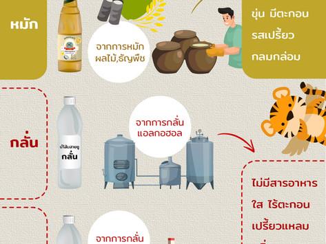 รู้หรือไม่? น้ำส้มสายชู (vinegar) มีหลายประเภท เลือกอย่างไรให้ปลอดภัย