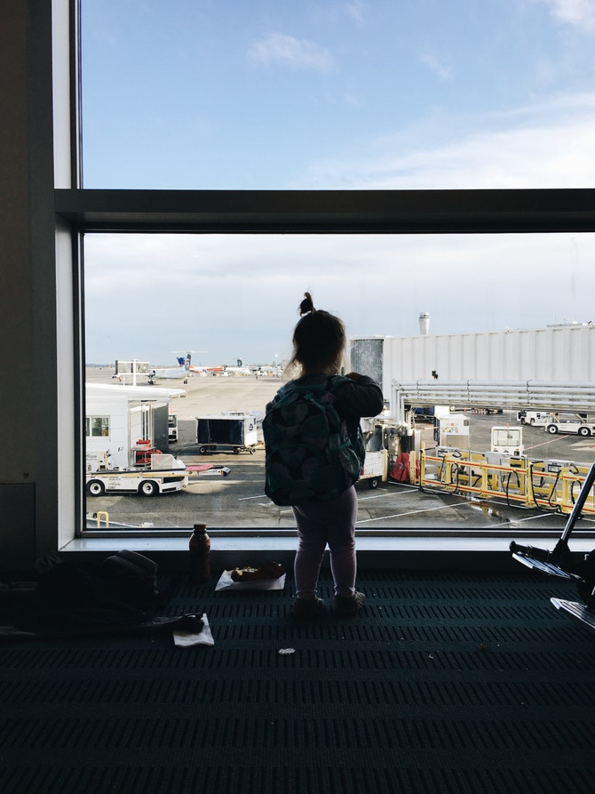 Flying with tiny humans