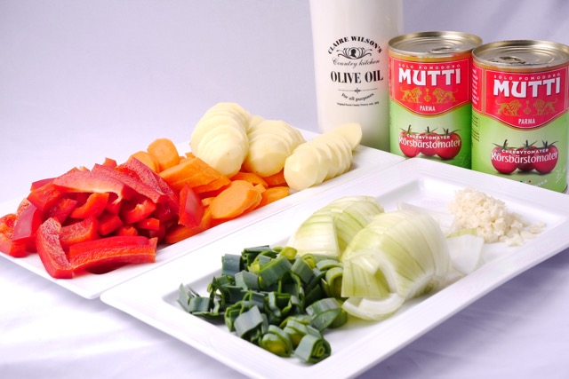 Bacalao ingredients 2