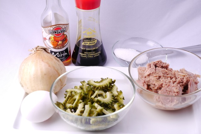 Goya Champuru ingredients
