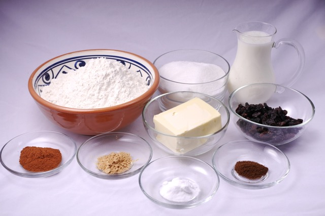 Gingerbread cake ingredients