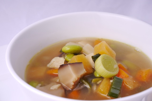 Chicken and ginger soup 2