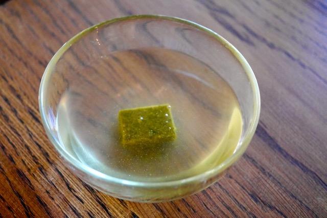 Dissolve bouillon cube