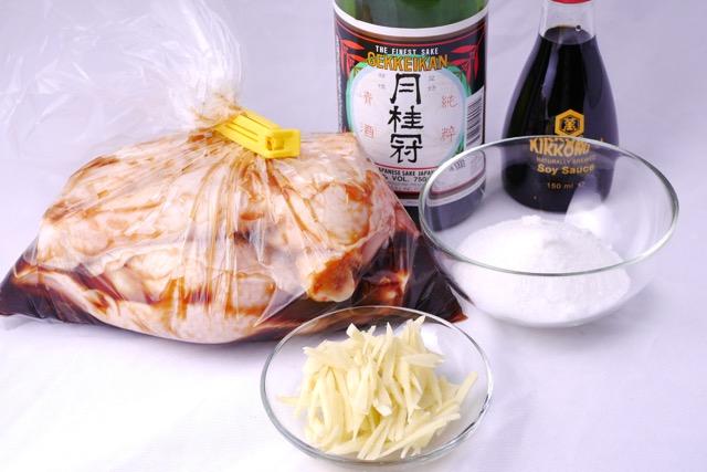 Teriyaki chicken ingredients 2