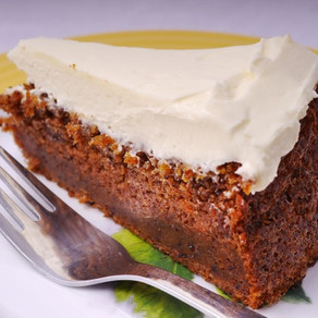 Carrot cake - with double frosting