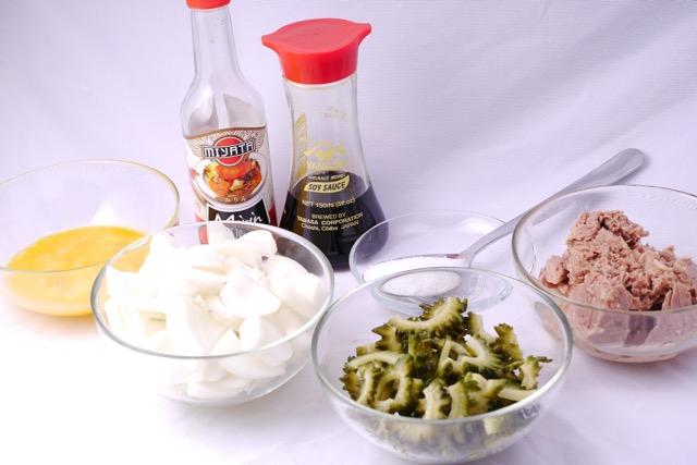 Goya Champuru ingredients 2
