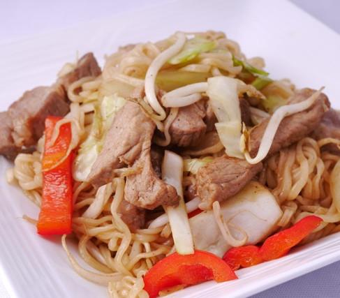 Fried noodle (Yaki soba)