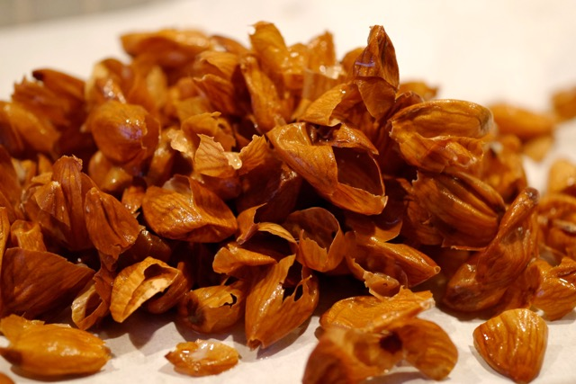 Almond skin