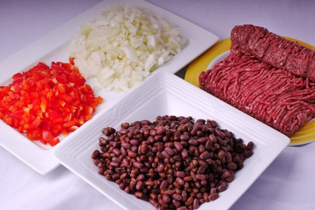 Ingredients - chopped