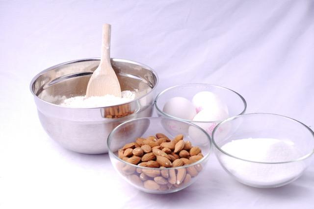 Almond Biscotti ingredients