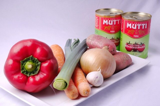 Bacalao ingredients