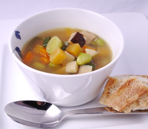 Chicken and ginger soup