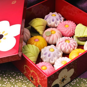 "Jyounamagashi (traditional Japanese ""Petit four"")"