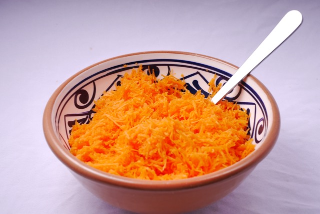 Grated carrots 1