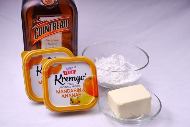 Carrot cake frosting ingredients