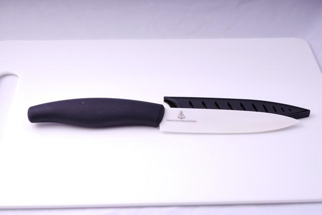 Ceramic fruit knife