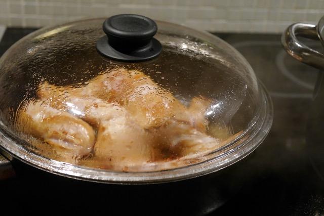 Steam chicken