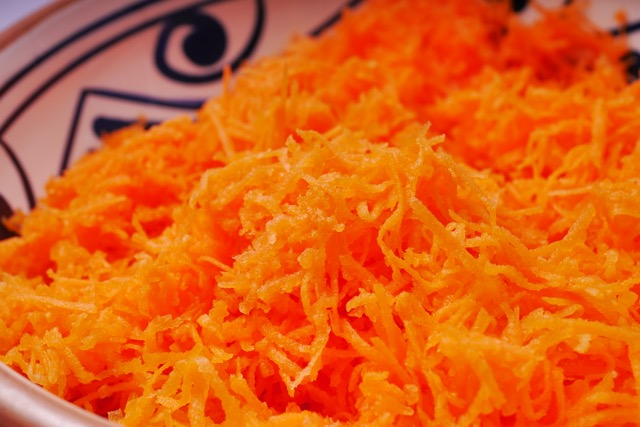 Grated carrots 2
