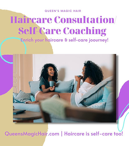 Haicare Consultation/Self-Care Coaching Customized Routine Planning