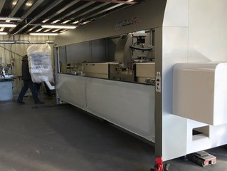 Our new CNC machining centre has arrived.