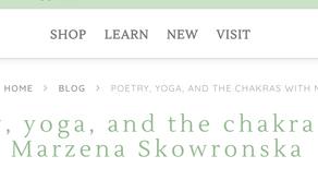 Poetry, yoga, and the chakras with Marzena Skowronska