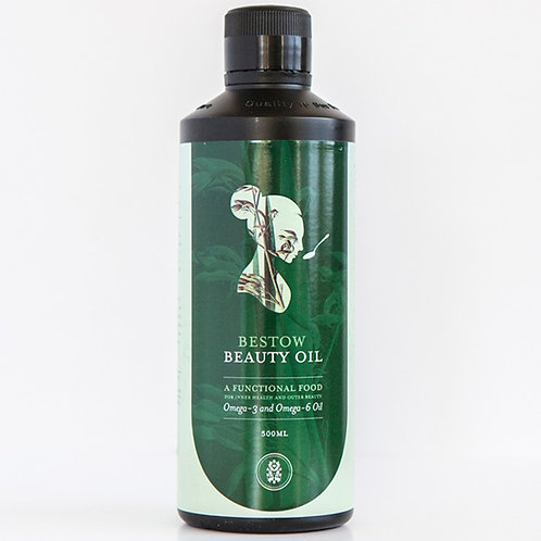Bestow beauty oil from the beauty depot