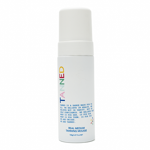 tanned Real Medium Tanning Mousse from the beauty depot
