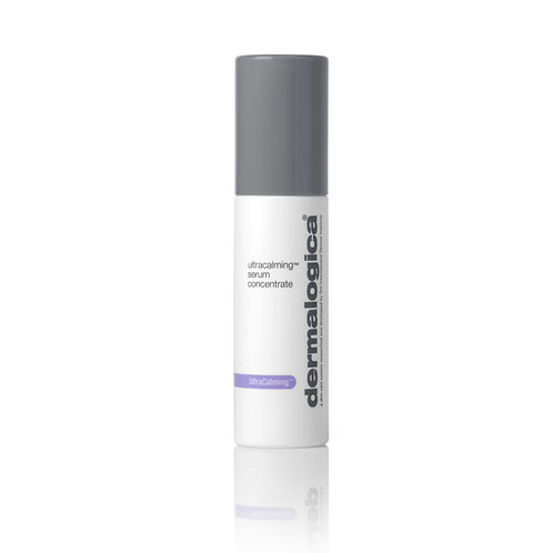 A bottle of dermalogica ultracalming serum concentrate from the beauty depot