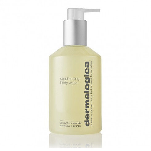 A bottle of Dermalogica conditioning body wash from the Beauty Depot