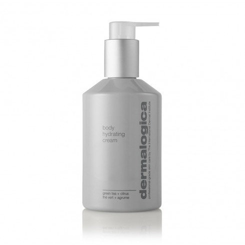 A bottle of Dermalogica  body hydrating cream from the Beauty depot