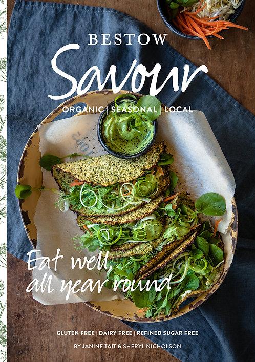 Bestow beauty savour cookbook from the beauty depot
