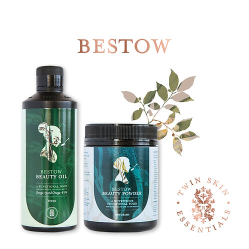 Bestow beauty twin skin essentials pack from the beauty depot