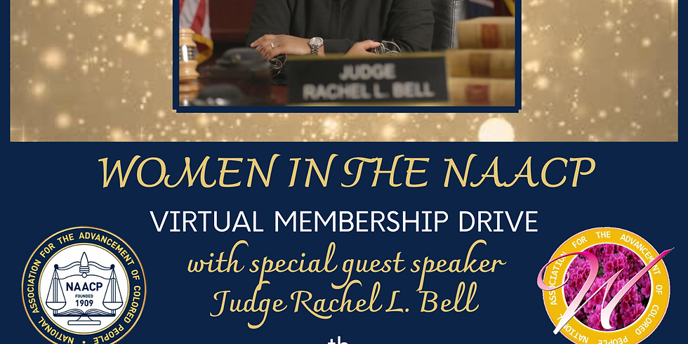 Women In The NAACP: Virtual Membership Drive