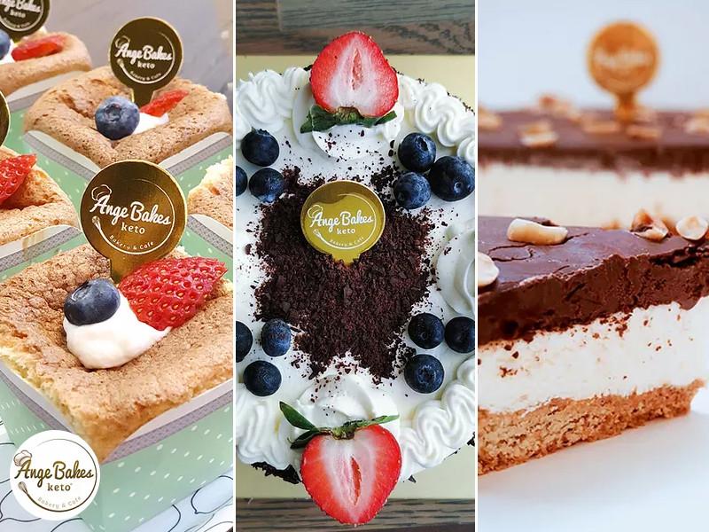 Keto cakes for dessert