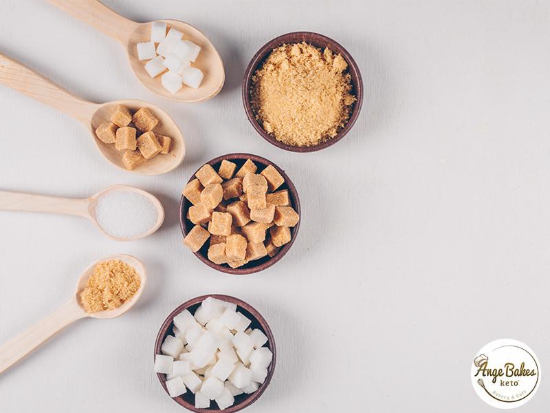 artificial sweeteners of sugar free cakes